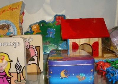 Speelgoed en muziekinstrumenten